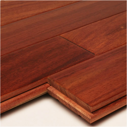 Santos Mahogany Clear Prefinished Flooring
