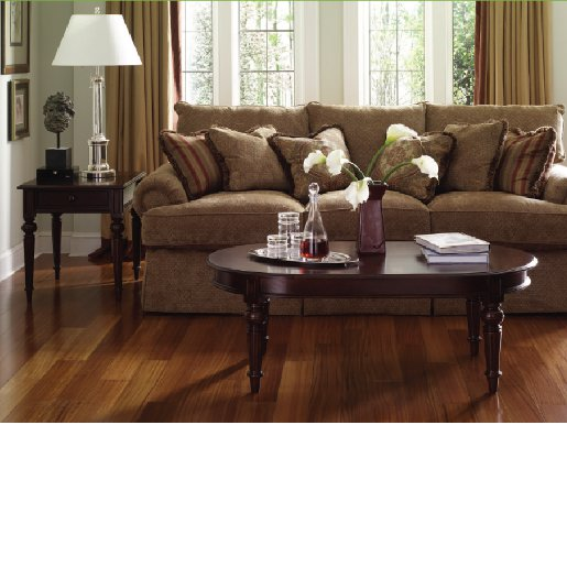 Cumaru Select and Better Prefinished Flooring