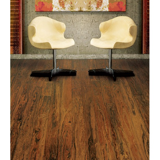 Strand Woven Poplar FSC Certified / Recycled Prefinished Flooring