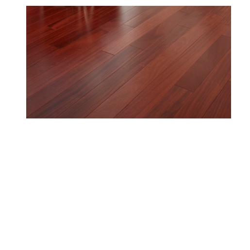 Cumaru rosewood 3 4 x 5 x 1 39 6 39 clear smooth for Red cumaru flooring
