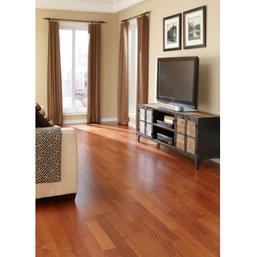 Pacific Mahogany Select and Better Prefinished Flooring