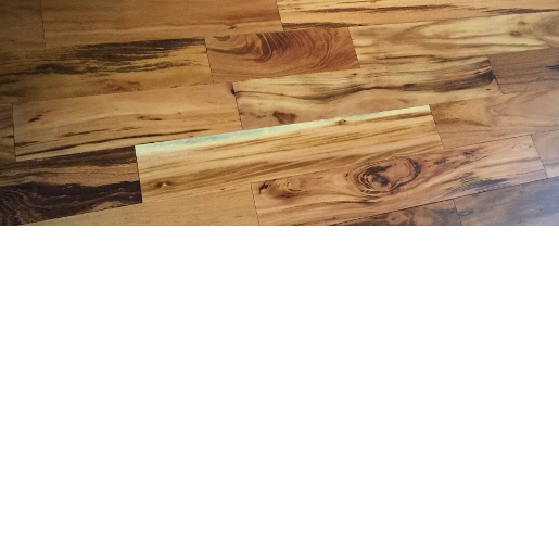 Tigerwood Builders Grade Prefinished Flooring