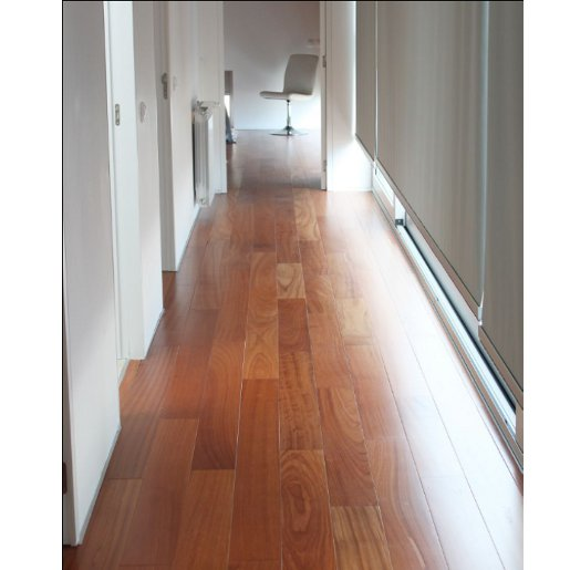 Prefinished Hardwood Flooring Cleaning: Afzelia / Doussie Prefinished Clear 5237