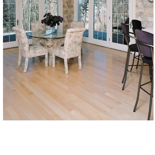 Maple Clear Hardwood Flooring: Maple Clear Prefinished Smooth Clear 3714