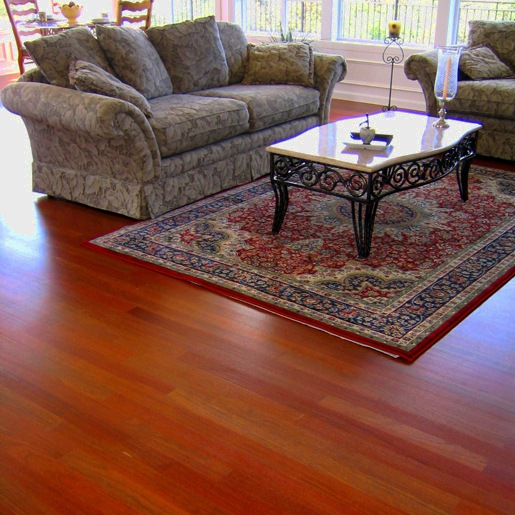 Brazilian Cherry Clear Prefinished Flooring