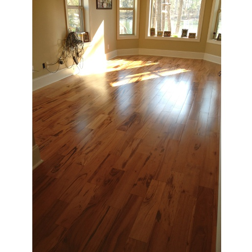 Tigerwood Natural Prefinished Smooth Clear 4896