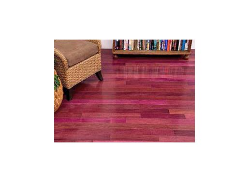 Purpleheart Hardwood Flooring Prefinished Engineered