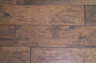Hickory Saloon Saddle Engineered Handscraped Character
