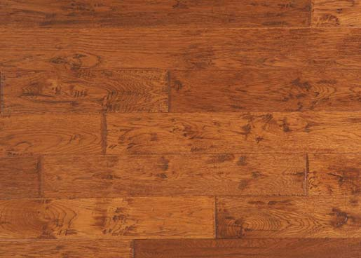 Hickory Sunset Engineered Prefinished Flooring
