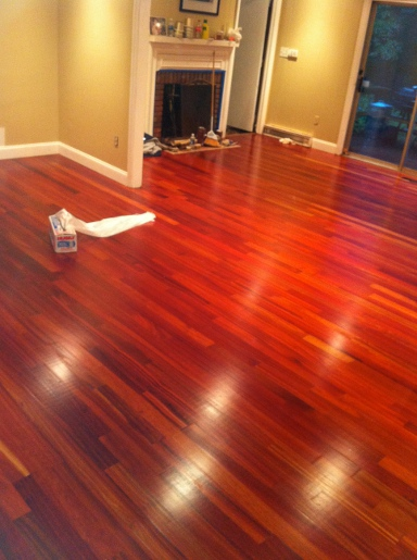 Bloodwood 34 X 3 14 X 1 7 Clear Unfinished Flooring