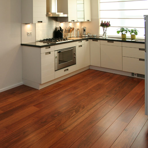 Patagonian Rosewood Clear Unfinished Flooring