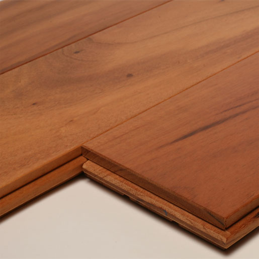 Tigerwood Clear Unfinished Flooring