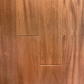Genuine Mahogany Natural Engineered Prefinished Flooring