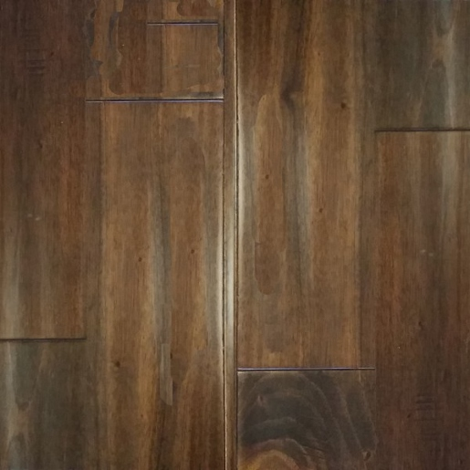 Genuine Mahogany Character Grade 1.5mm Wear Layer Engineered Prefinished Flooring
