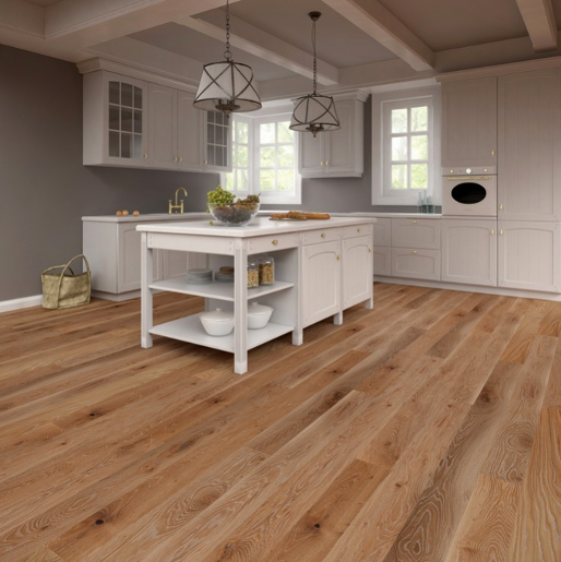 White Oak Character Grade 3 5mm Wear Layer Engineered Prefinished Flooring