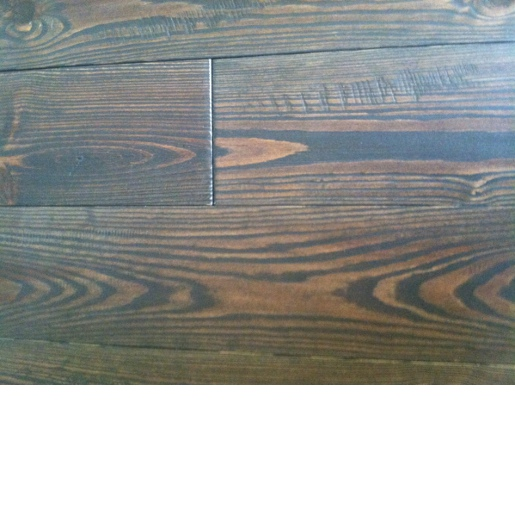 Southern Yellow Pine Smoked Prefinished Handscraped Mill