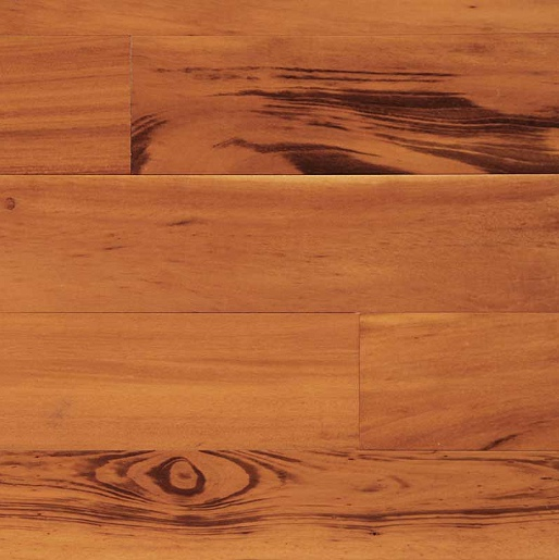 Tigerwood Select and Better 1.3mm Wear Layer Prefinished Flooring