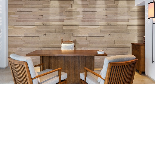 White Oak Rustic Prefinished Wall Panels