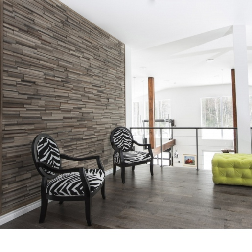 Mixed Species Varied Grades and Textures Prefinished Wall Panels