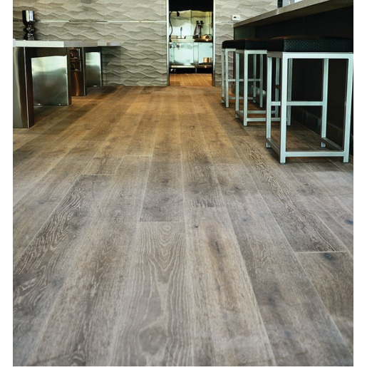 White oak coastal dune salt spray 3 4 x 7 1 2 x 2 6 for Engineered wood floor 6mm
