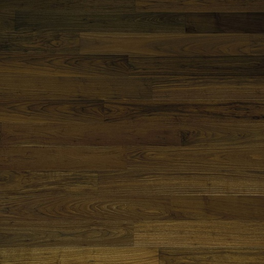 Walnut Select 0.4mm Veneer Waterproof Wood Floor w/ Sound Buffering Pad