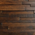 Hickory - Rowlock - Wolf Creek Prefinished Wall Panels