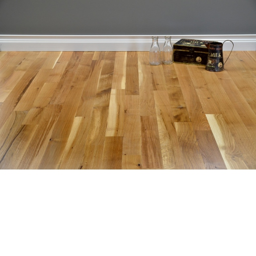 White Oak Character Unfinished Flooring