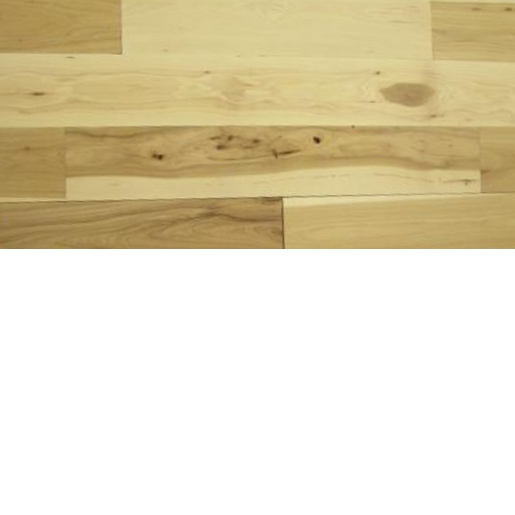 Hickory Character Unfinished Flooring