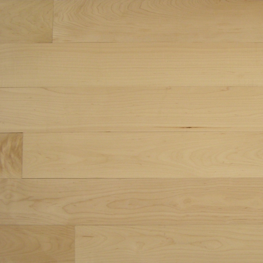 Maple Select and Better Unfinished Flooring