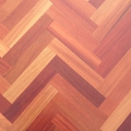 Brazilian Cherry Herringbone Unfinished Flooring