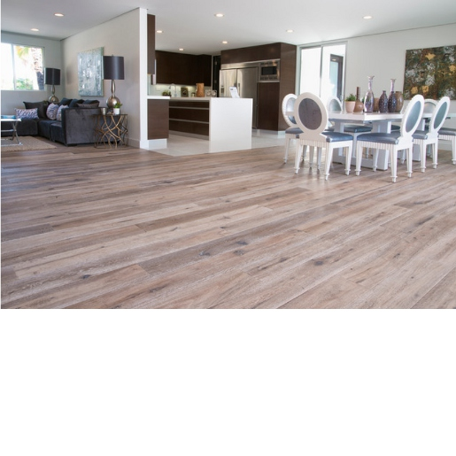 White Oak Deep Smoked Engineered Rustic 6009