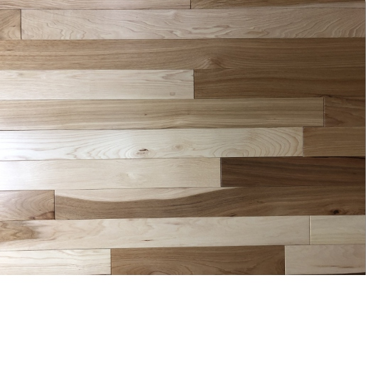 Hickory Mill Run Prefinished Flooring