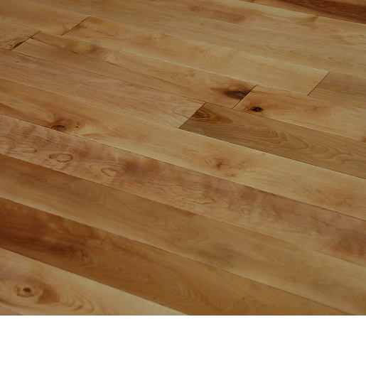 Red Birch Character Unfinished Flooring