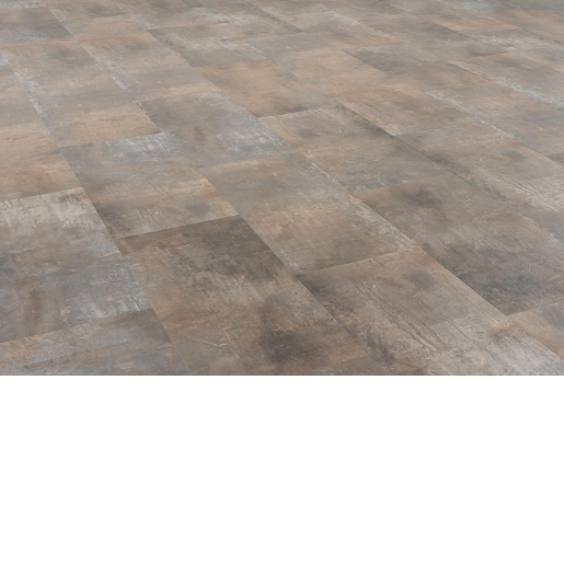 Luxury Vinyl 20 mil Surface Layer Realistic Stone Texture SPC Floating Floor with Attached Pad