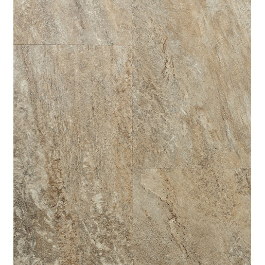 Luxury Vinyl 20 mil Surface Layer Realistic Stone Texture with Attached Pad