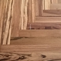 Tigerwood Herringbone Unfinished Flooring