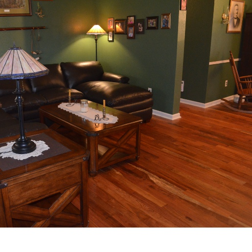 Brazilian Cherry Clear Unfinished Flooring