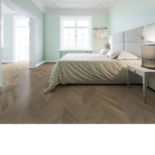 White Oak Select 2mm Wear Layer Engineered Prefinished Flooring