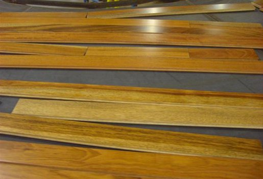 Brazilian Cherry #1 Com Prefinished Flooring