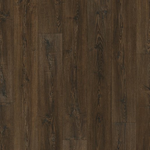 Luxury Vinyl 20 mil Surface Layer Realistic Wood Texture with Attached Cork Underlayment
