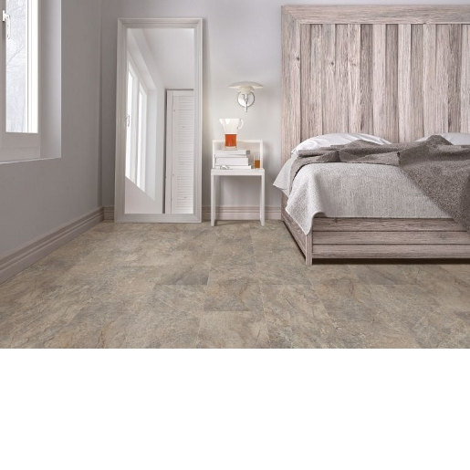Luxury Vinyl 20 mil Surface Layer Mineral Core with Attached Cork Underlayment