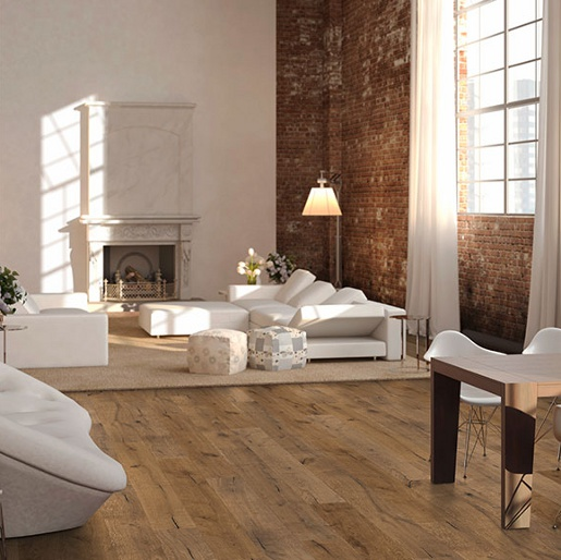 White Oak Select 6mm Wear Layer Engineered Prefinished Flooring
