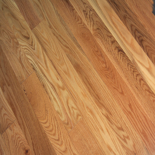 Red Oak Select and Better Unfinished Flooring