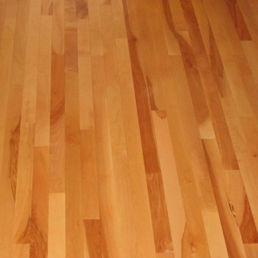 Yellow birch hardwood flooring prefinished engineered