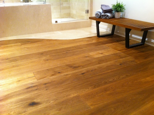 White Oak Rustic 3mm Wear Layer Engineered Prefinished Flooring