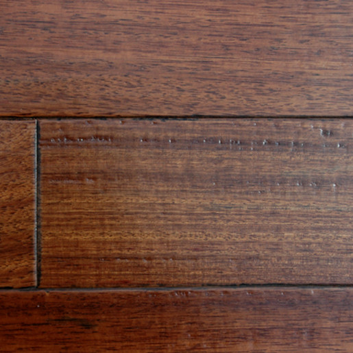 Angelique mahogany hardwood flooring prefinished for Mahogany flooring