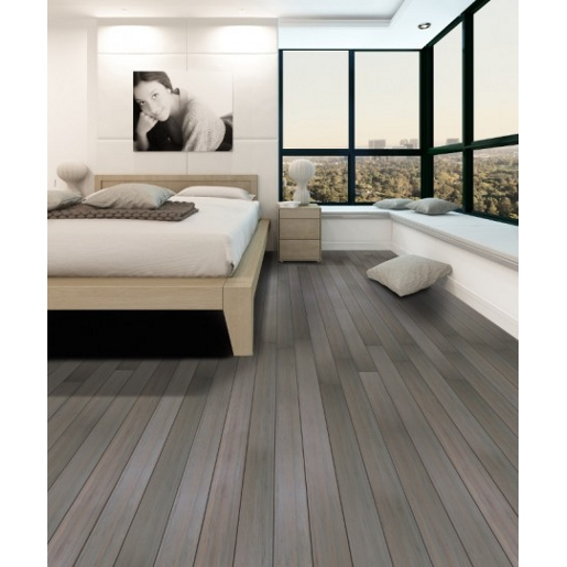 Bamboo Vertical 4mm Wear Layer Engineered Prefinished Flooring