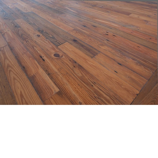 Heart Pine Mixed Grade Prefinished Flooring