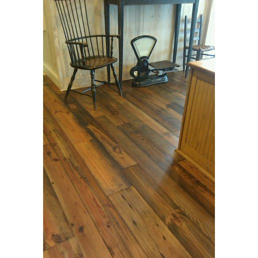 Heart Pine Mixed Grade 4mm Wear Layer Engineered Prefinished Flooring
