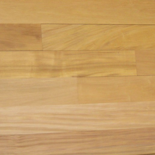 Garapa / Golden Teak Clear Mixed Unfinished Flooring
